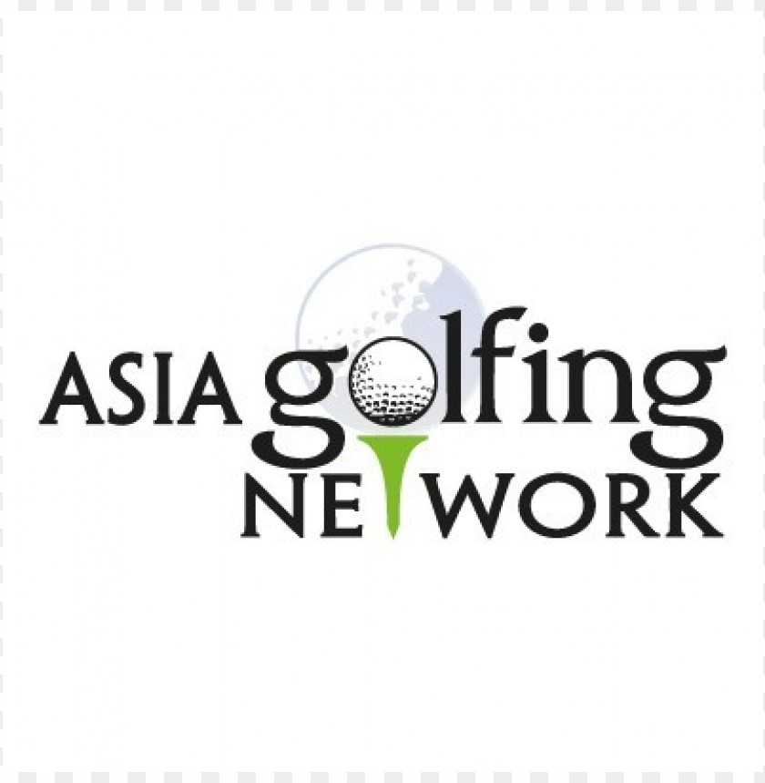 free PNG asia golfing network logo vector PNG images transparent