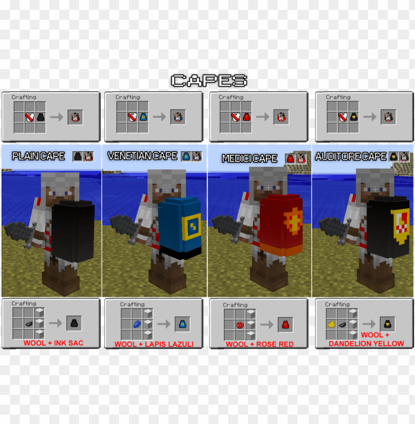 free PNG assassincraft mod crafting recipes - minecraft assassincraft PNG image with transparent background PNG images transparent