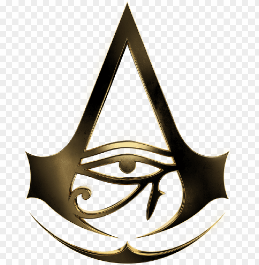 Assassin S Creed Origins Logo Assassin S Creed Logo Origins Png Image With Transparent Background Toppng
