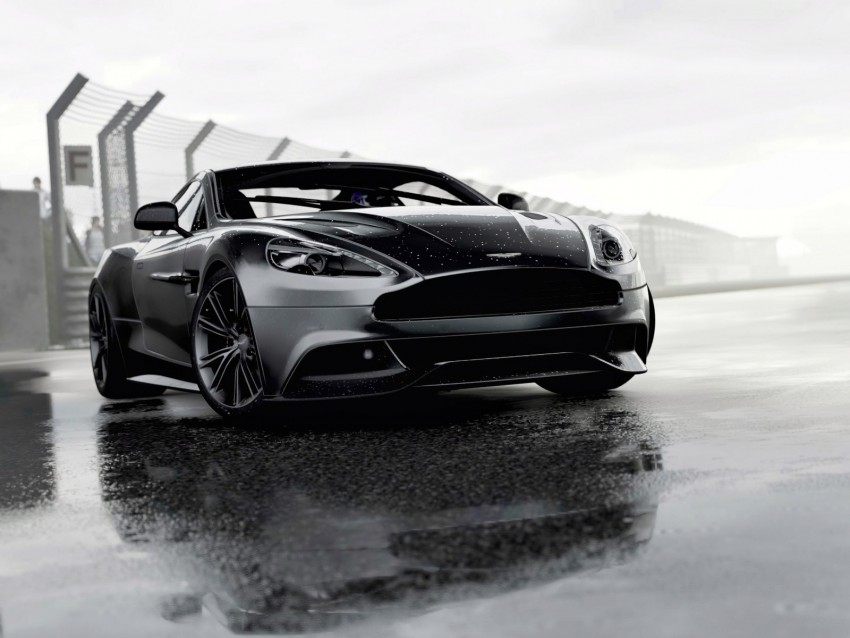 aston martin, sports car, race background@toppng.com