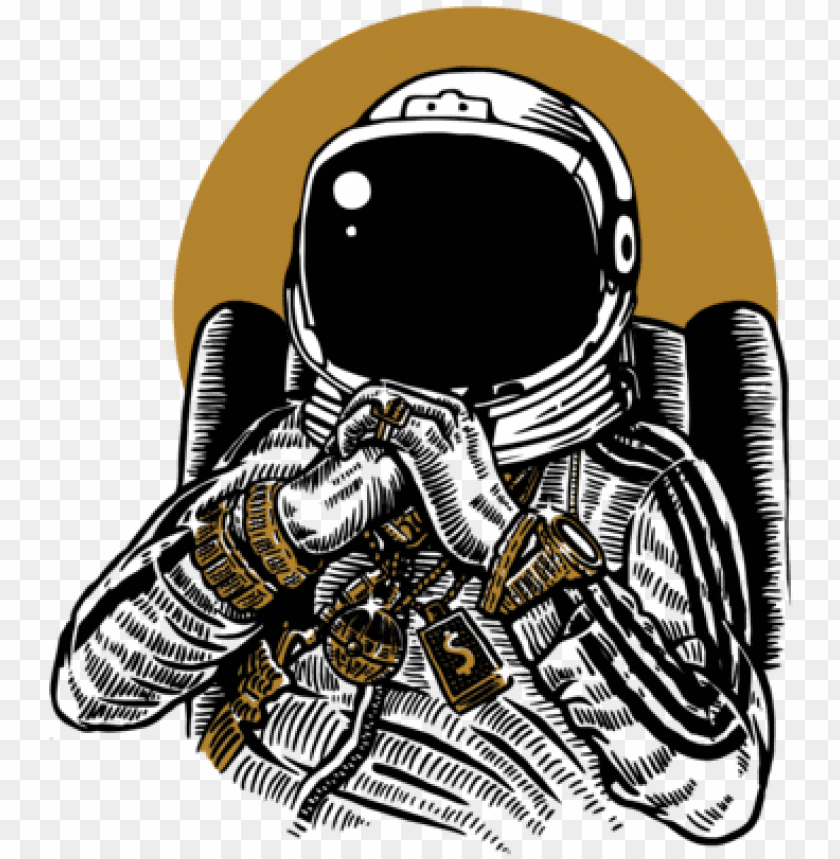 Roblox Astronaut Helmet Shirt Astronaut Gangsta T Cool Space Shirt Designs Png Image With Transparent Background Toppng
