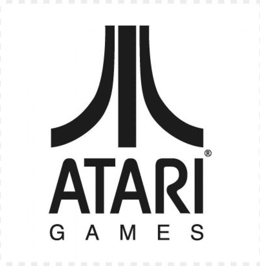 free PNG atari games black logo vector PNG images transparent