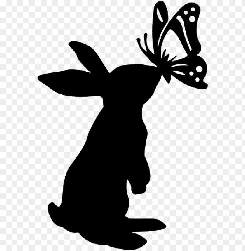 Ativity Clipart Silhouette Bunny Silhouette Png Image With Transparent Background Toppng