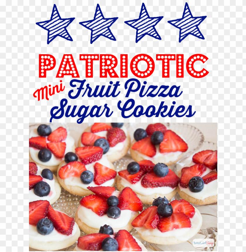 free PNG atriotic mini fruit pizza recipe - patriotic fruit pizza PNG image with transparent background PNG images transparent