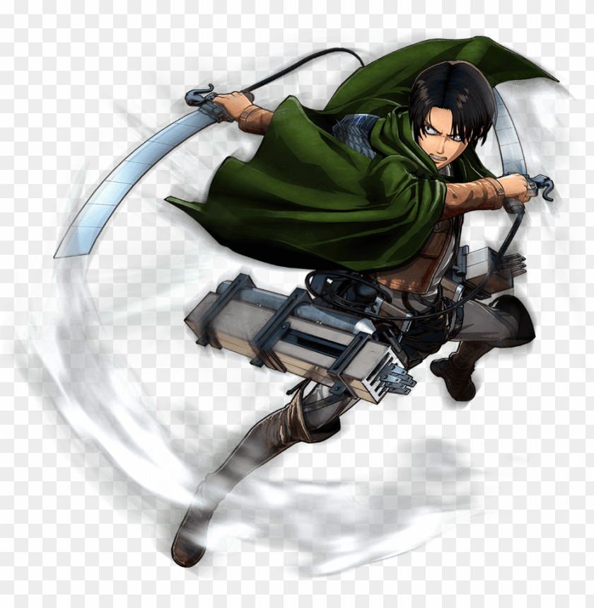 Attaque Des Titans Png Attack On Titan Kapten Levy Png Image With Transparent Background Toppng