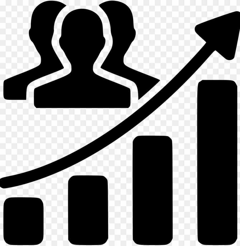 free PNG audience growth chart svg  icon free- audience growth icon png - Free PNG Images PNG images transparent