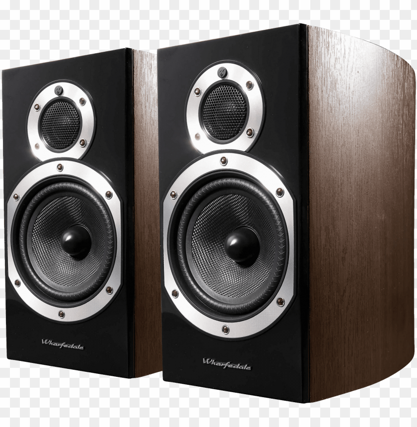 free PNG audio speakers png image - wharfedale diamond 10.1 speaker, black PNG image with transparent background PNG images transparent