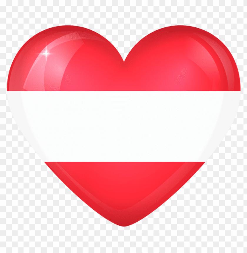 free PNG Download austria large heart flag clipart png photo   PNG images transparent