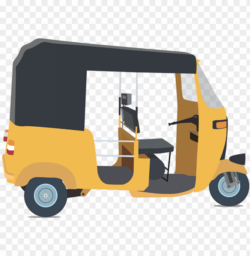 free PNG auto rickshaw png clipart - auto rickshaw vector PNG image with transparent background PNG images transparent
