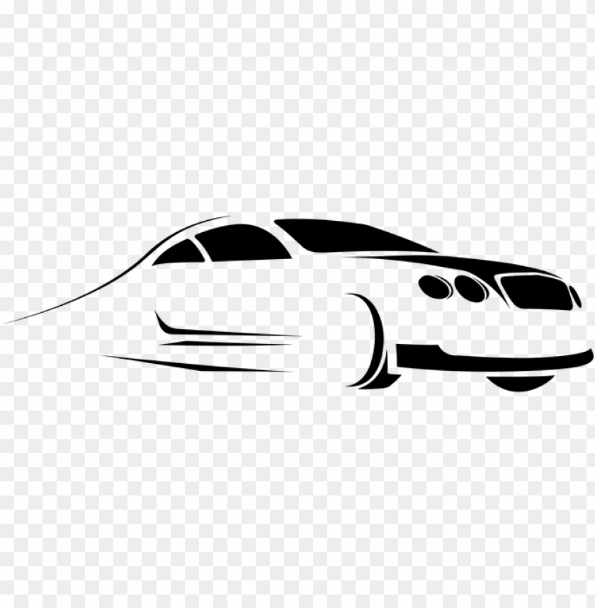 Automobile Car Drive Ride Silhouette Styli Car Rental Logo Png Image With Transparent Background Toppng