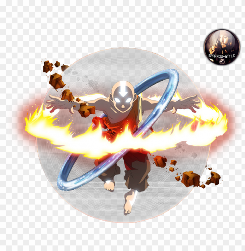 Avatar State Png Avatar Aang Bendi Png Image With Transparent