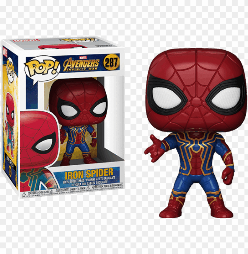 free PNG avengers infinity war -iron spider - iron spider man funko pops PNG image with transparent background PNG images transparent
