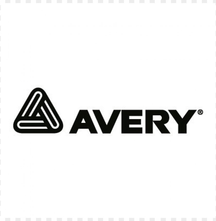 free PNG avery black logo vector PNG images transparent