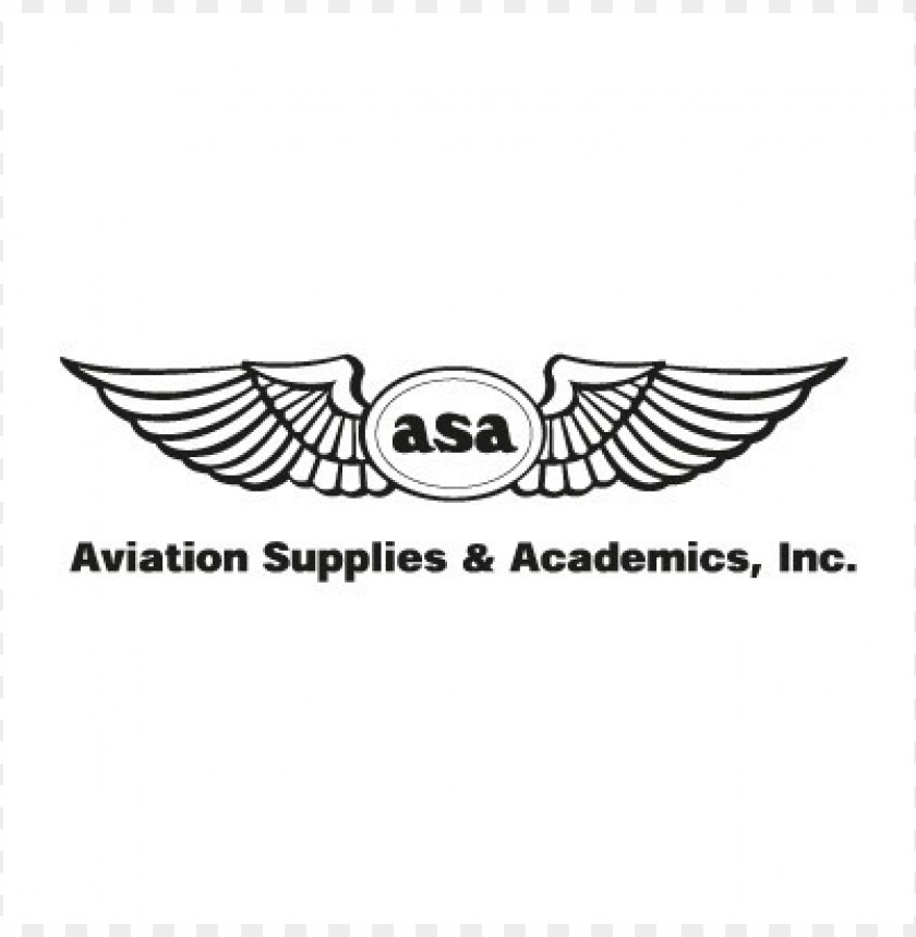 aviation supplies & academics logo vector@toppng.com