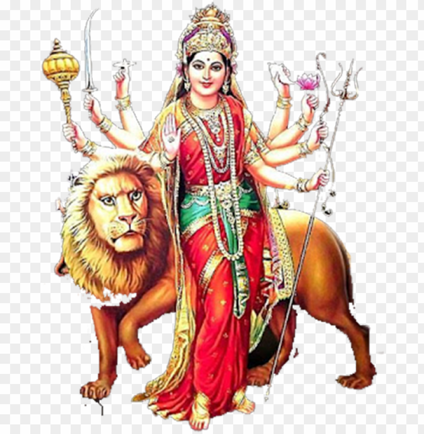 Avratri Editing Durga Maa Editing Picsart Lover New Maa Durga Image Hd Png Image With Transparent Background Toppng
