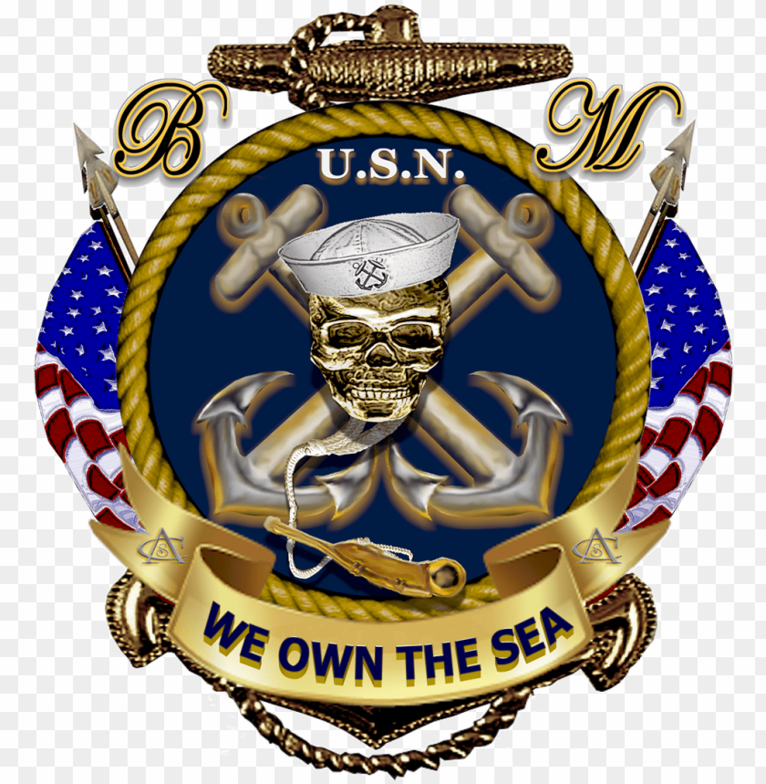 free PNG avy decor us navy quotes, navy military, military - navy boatswain's mate logo PNG image with transparent background PNG images transparent