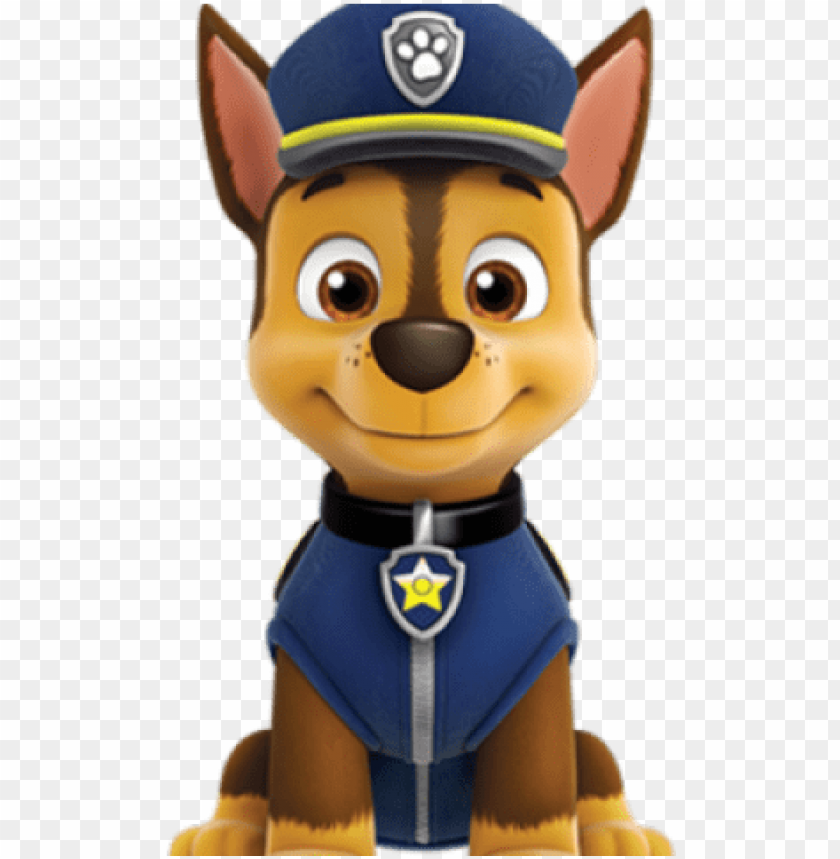 free PNG aw clipart paw patrol - chase paw patrol characters PNG image with transparent background PNG images transparent