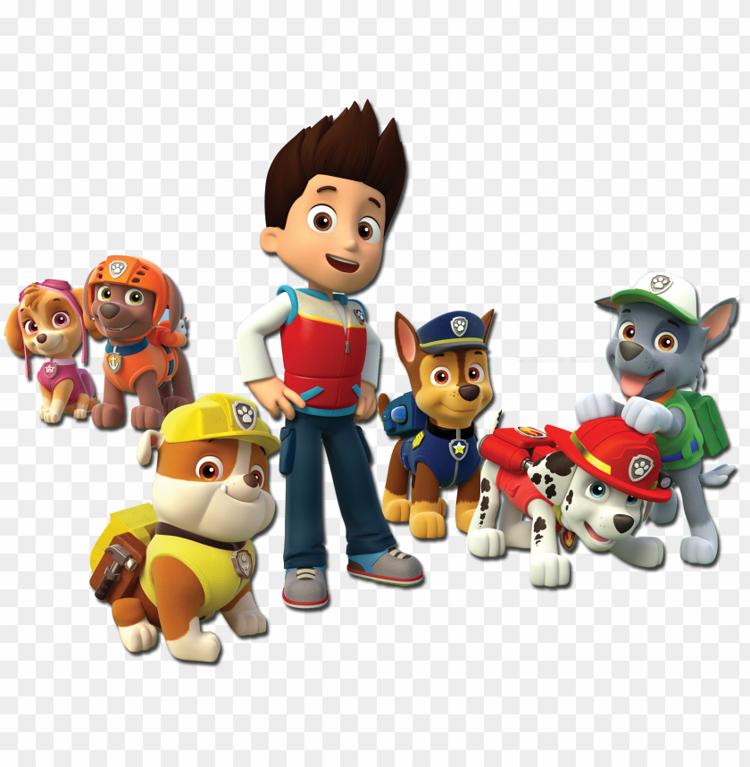 free PNG aw patrol characters for designs paw patrol characters, - transparent paw patrol PNG image with transparent background PNG images transparent