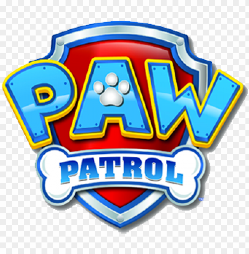 free PNG aw patrol logo nick jr paw patrol logo - logo paw patrol vector PNG image with transparent background PNG images transparent
