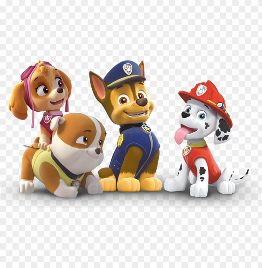 free PNG aw patrol png personajes - 39 paw patrol marshall party decoration standee easy PNG image with transparent background PNG images transparent
