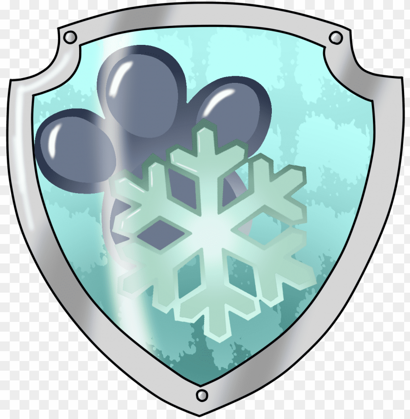 free PNG aw patrol shield png - paw patrol mission paw logo PNG image with transparent background PNG images transparent