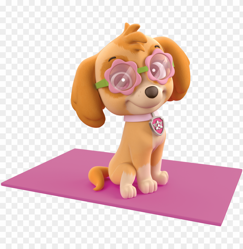 free PNG aw patrol skye summer sunglasses - paw patrol 'ready to relax' beach towel PNG image with transparent background PNG images transparent