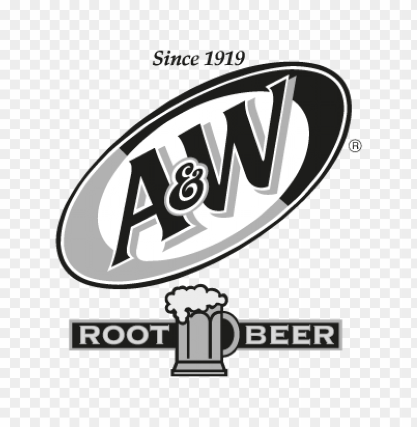 free PNG a&w root beer logo vector PNG images transparent