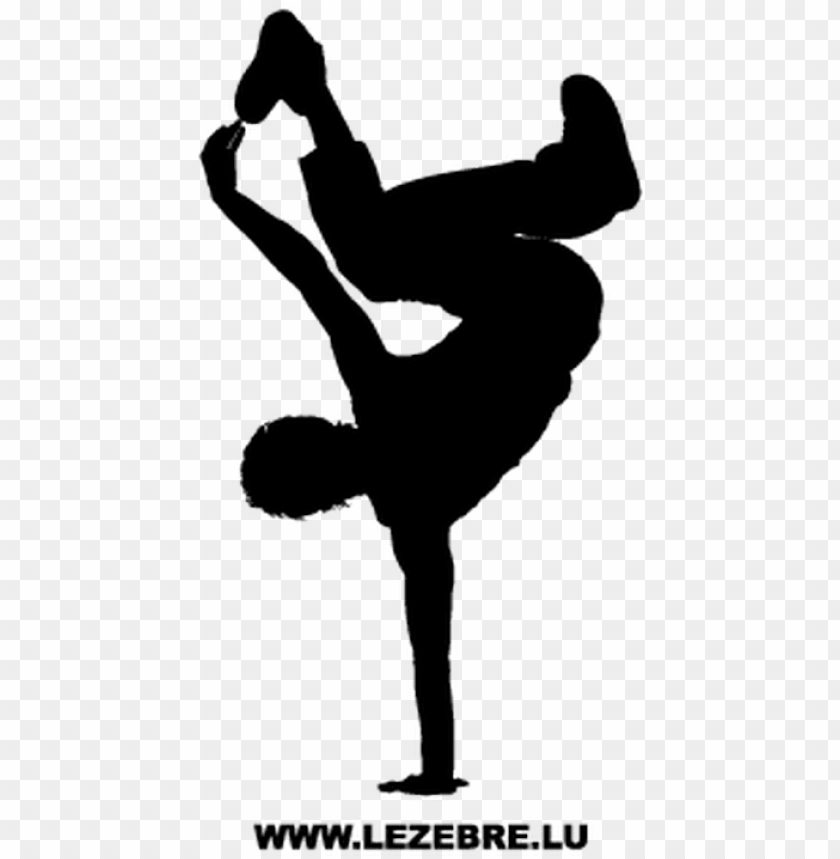 B Boy Png Hip Hop Dance Silhouette Png Image With Transparent Background Toppng
