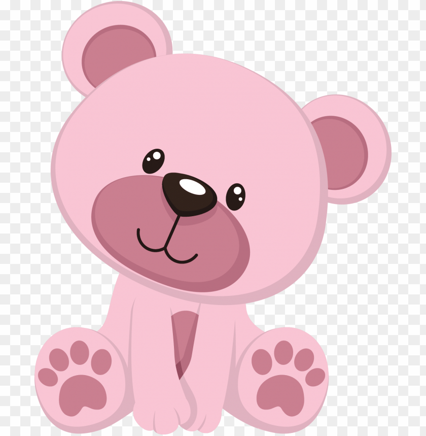 free PNG baby bear png pesquisa google - pink teddy bear clipart PNG image with transparent background PNG images transparent