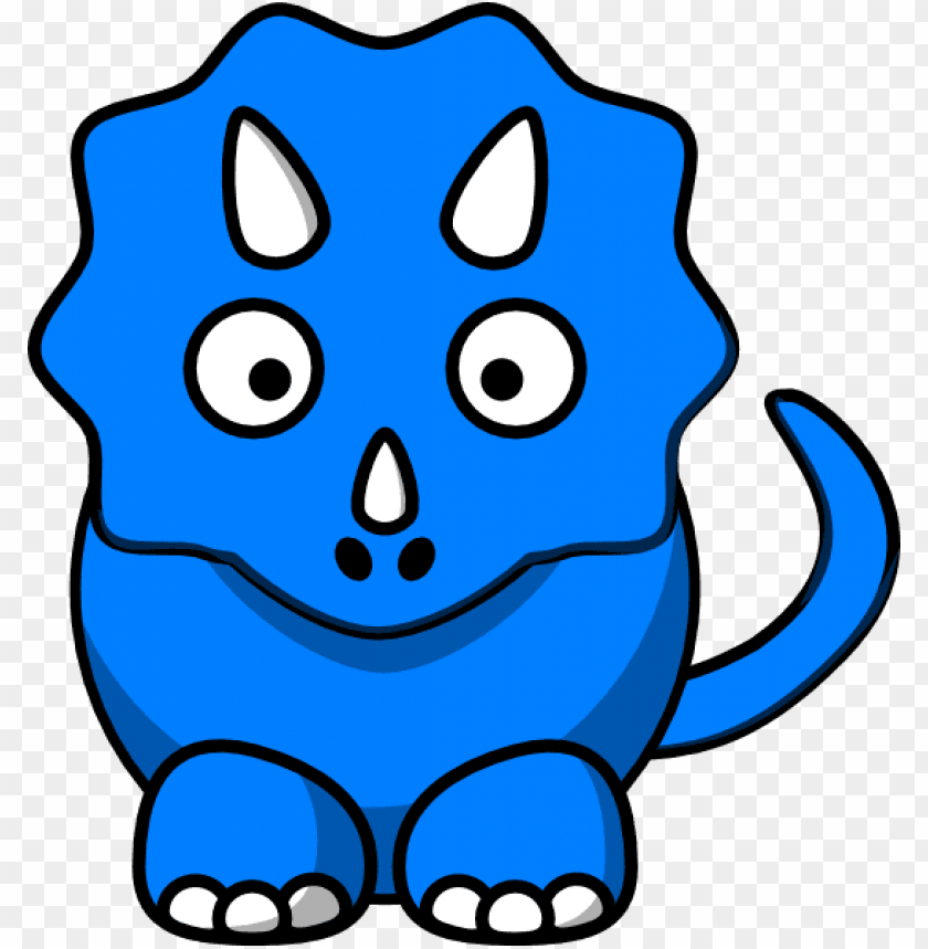free PNG baby blue dinosaur clip art at clker - blue dinosaur clipart PNG image with transparent background PNG images transparent