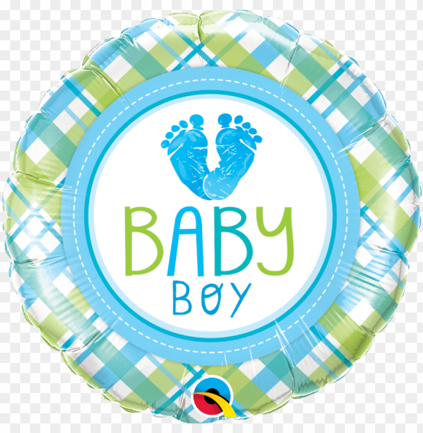free PNG baby boy feet balloon - qualatex baby boy baby lo feet foil balloo PNG image with transparent background PNG images transparent