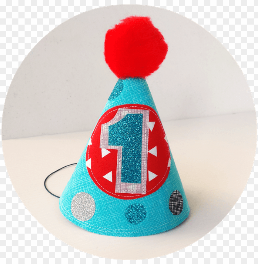 free PNG baby boy's first birthday party hat - 1 st birthday hat PNG image with transparent background PNG images transparent