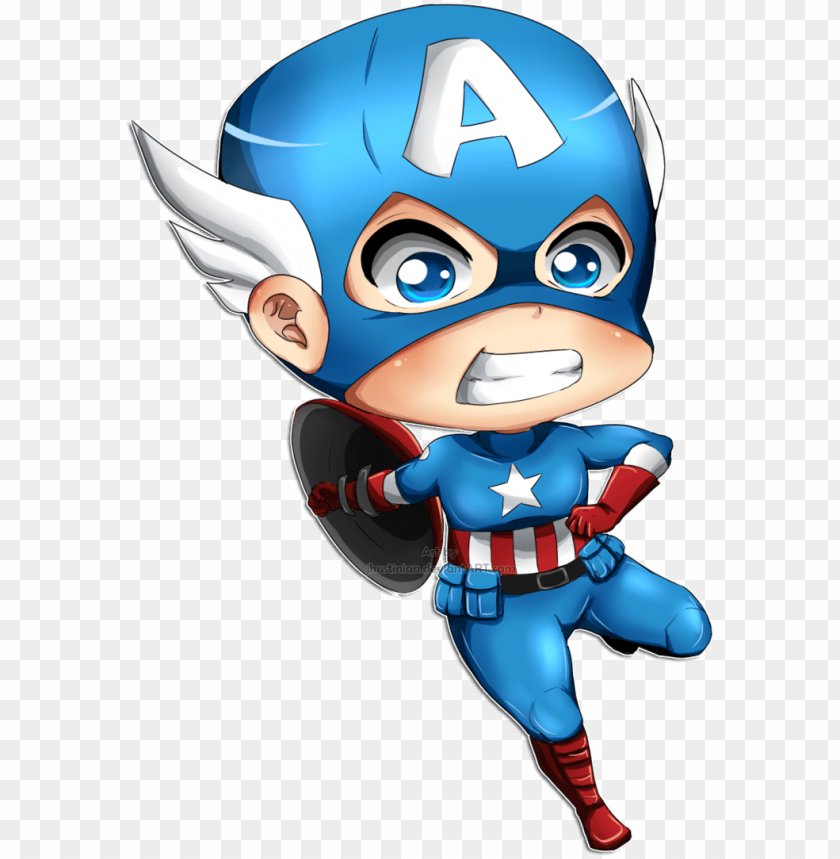 free PNG baby captain america png - captain america cute PNG image with transparent background PNG images transparent