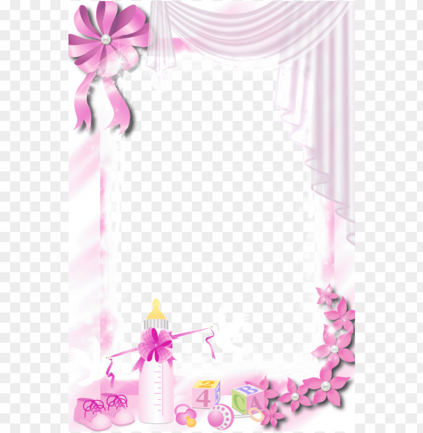 baby frame, baby clip art, foto frame, baby scrapbook, - pink baby frame PNG image with transparent background@toppng.com