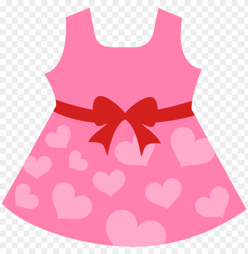 free PNG baby girl clothesline clipart 3 by kyle - vestido para bebe dibujo PNG image with transparent background PNG images transparent
