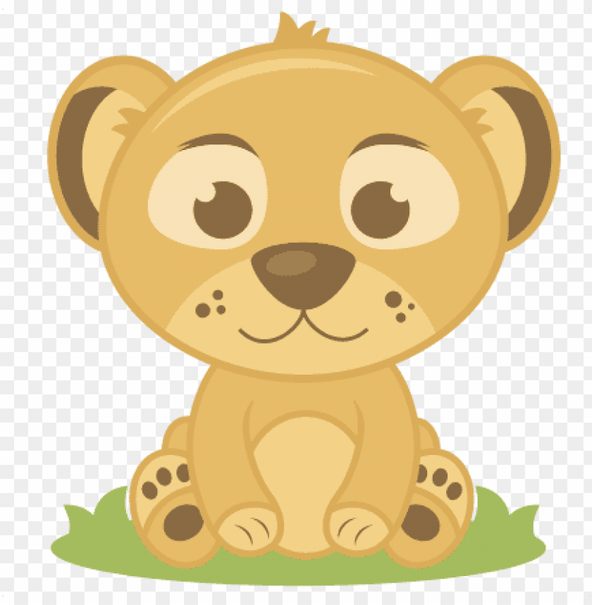 free PNG baby lion svg cutting files elephant svg cut file baby - cute baby tiger clipart PNG image with transparent background PNG images transparent