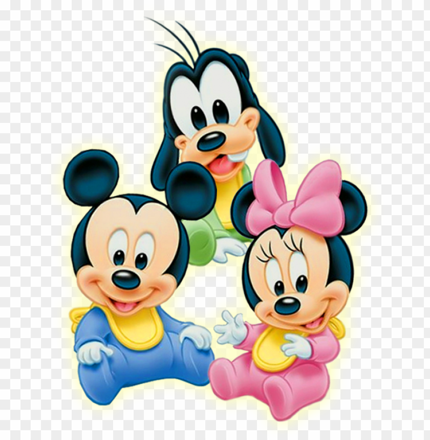 free PNG baby - minnie - mouse - png - disney baby minnie mouse edible image cake toppers PNG image with transparent background PNG images transparent