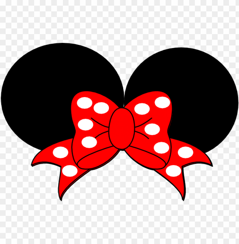 free PNG baby minnie mouse png - minnie mouse ears clipart PNG image with transparent background PNG images transparent
