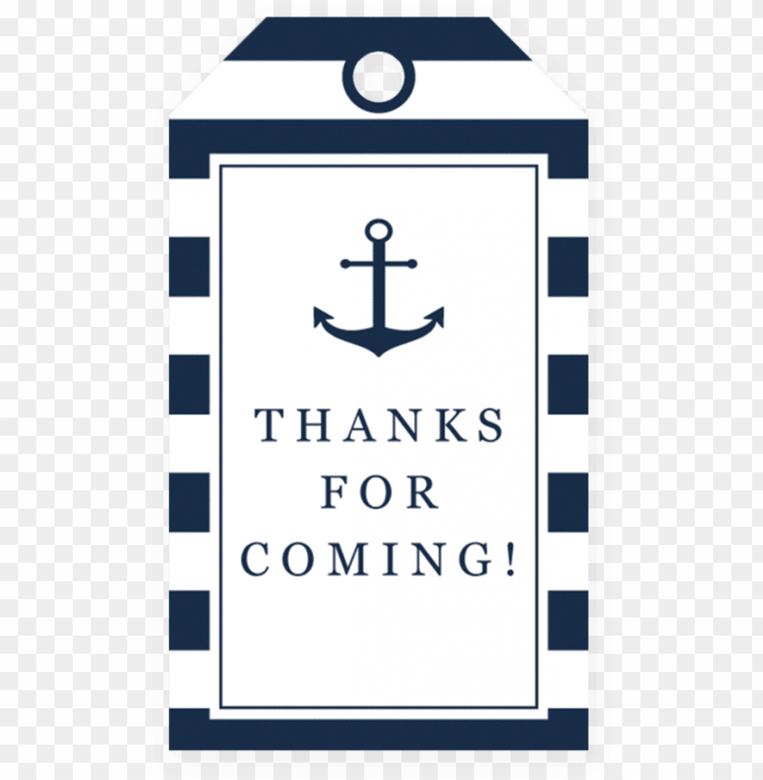 free PNG baby shower thank you favor tag printable by littlesizzle - dont say baby nautical game PNG image with transparent background PNG images transparent