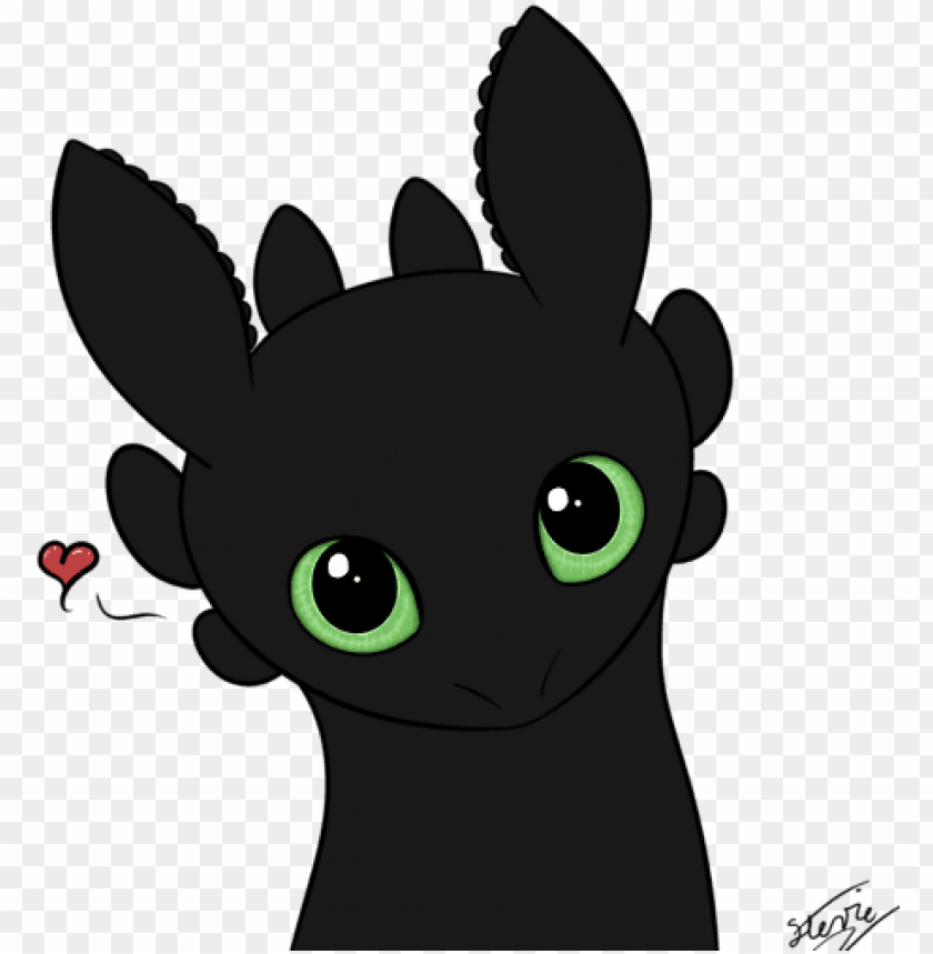 Baby Toothless Drawings Of Cute Toothless Png Image With Transparent Background Toppng