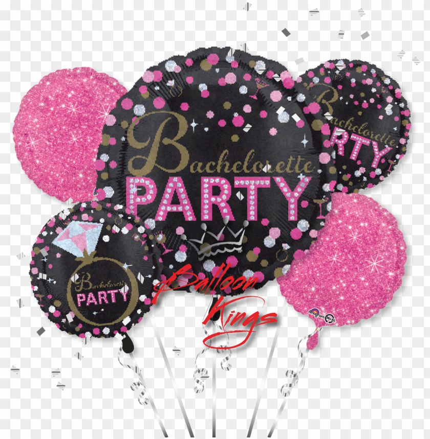 free PNG bachelorette sassy party bouquet - bachelorette party anagram balloo PNG image with transparent background PNG images transparent