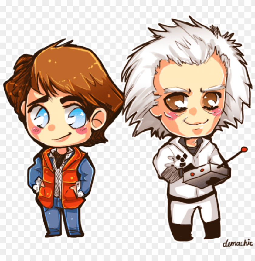 free PNG back to the future - back to the future chibi PNG image with transparent background PNG images transparent