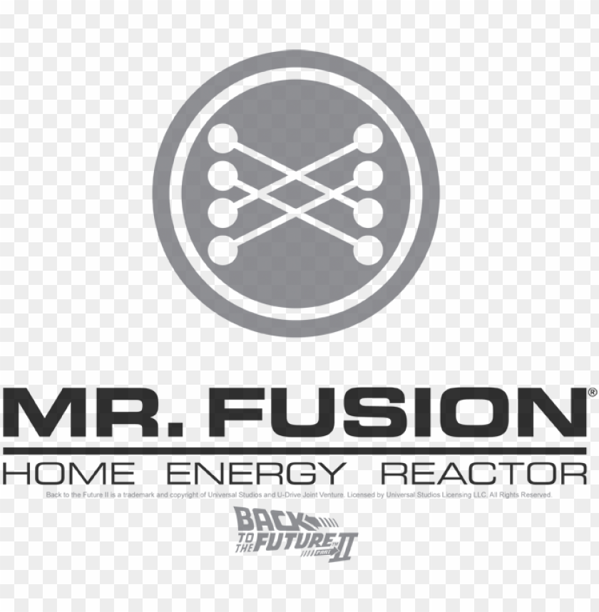 free PNG back to the future ii mr - mr fusion logo PNG image with transparent background PNG images transparent