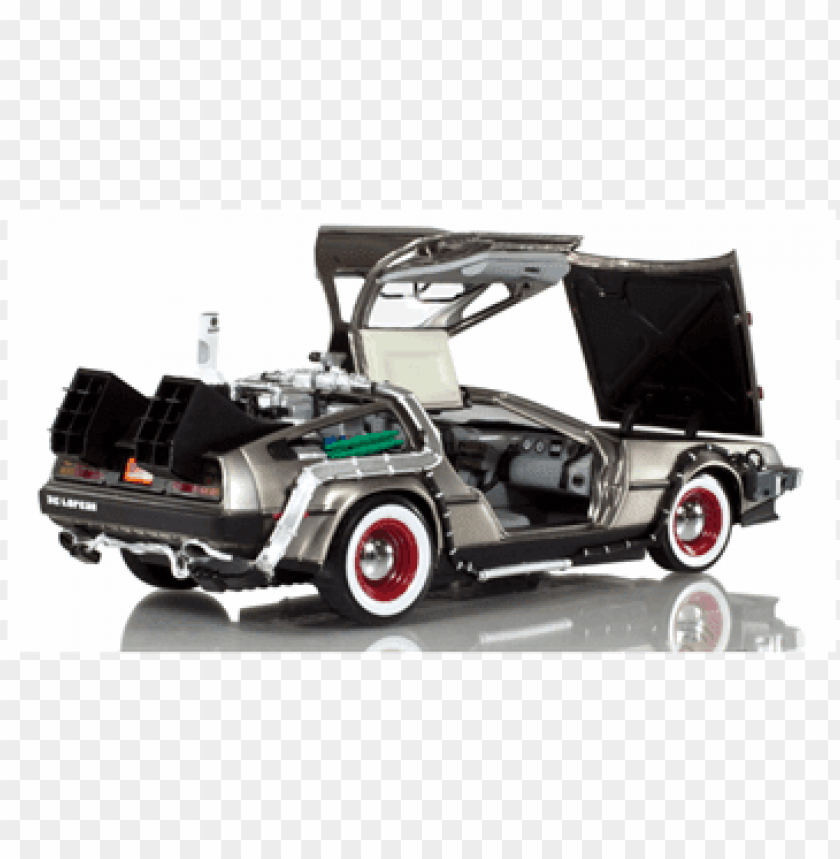 free PNG back to the future - model car PNG image with transparent background PNG images transparent