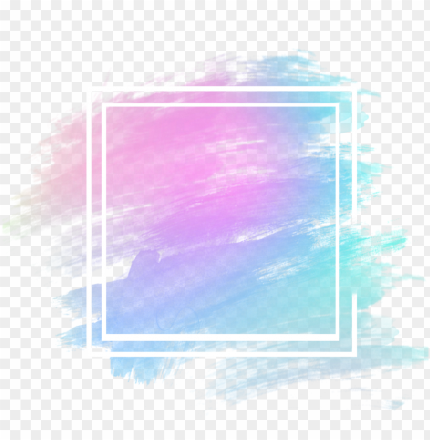 Background Blue Purple Pink Watercolor Aesthetic Icon Paint Png Image With Transparent Background Toppng