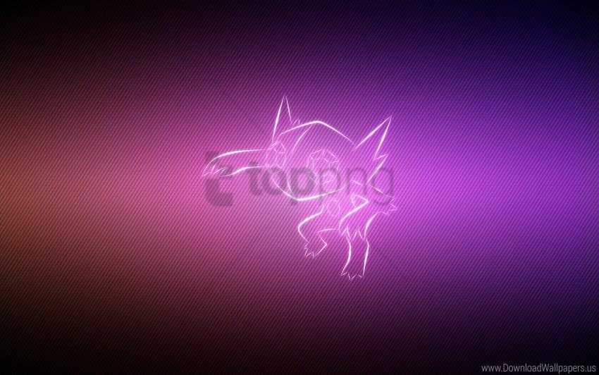 Background Lilac Pokemon Sableye Wallpaper Background