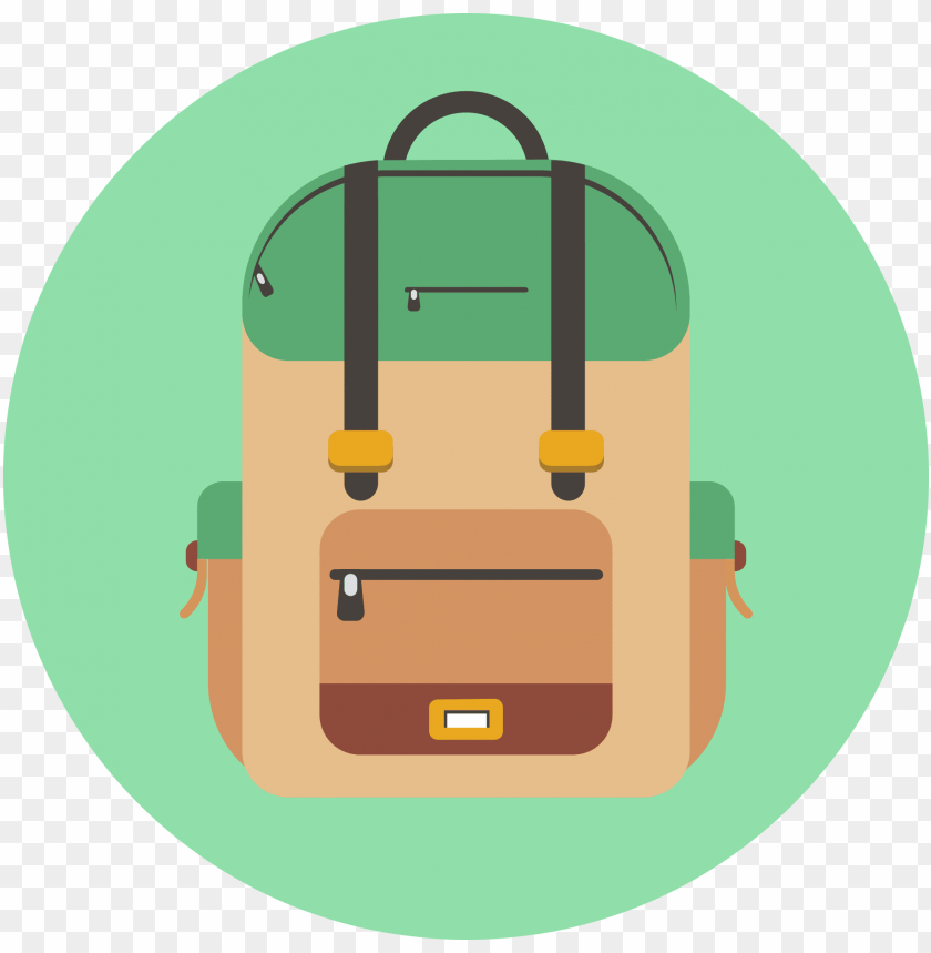 free PNG backpack  icon banner black and white - backpack icon png - Free PNG Images PNG images transparent