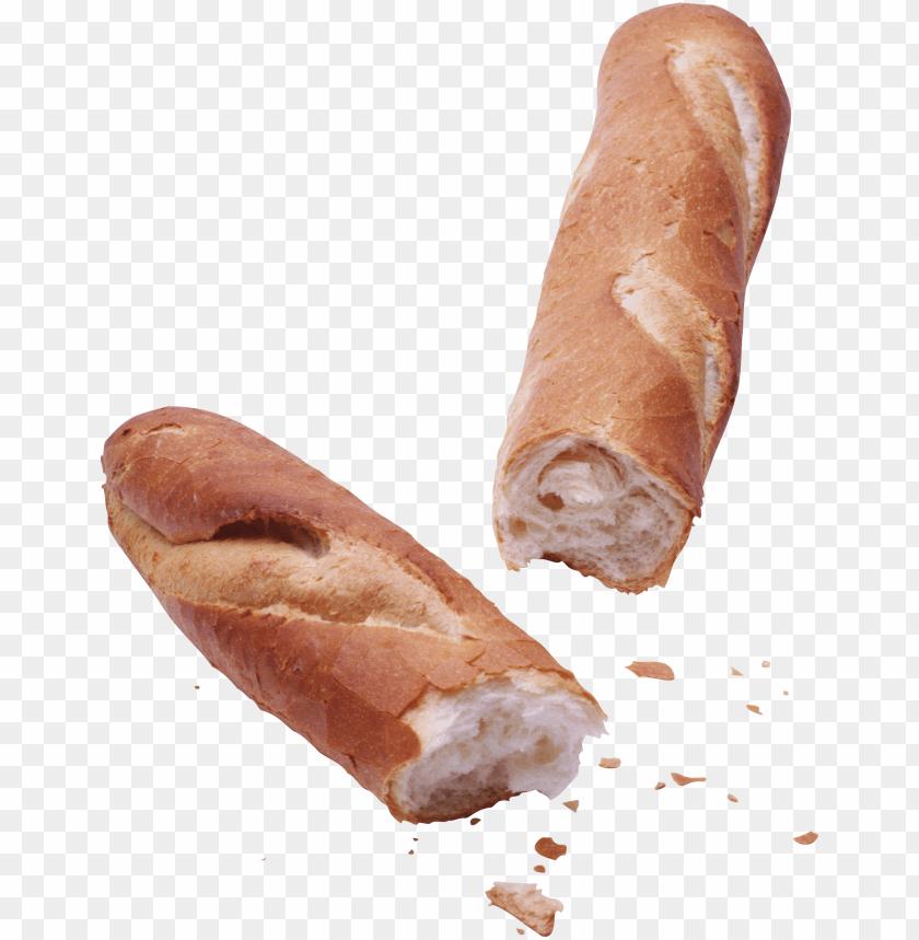free PNG Download baguette broken png images background PNG images transparent