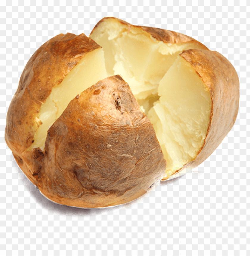 free PNG baked potato png - baked potato transparent PNG image with transparent background PNG images transparent
