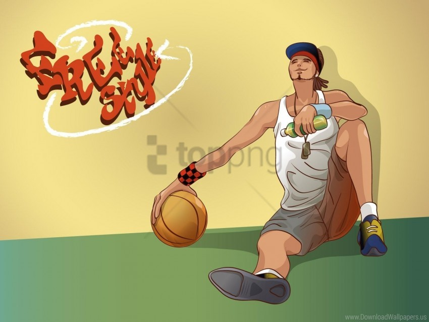 free PNG ball, basketball, basketball player, boy, sport wallpaper background best stock photos PNG images transparent